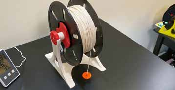 store filament is to use a 3D spool holder